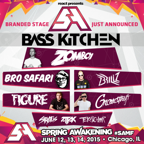 Spring Awakening Bass Kitchen Stage