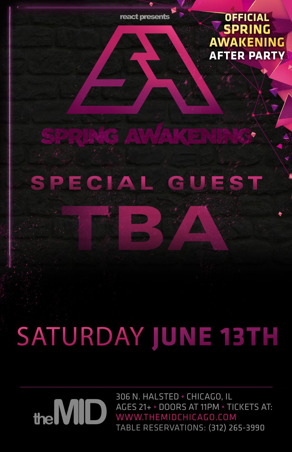 special guest saturday june 13 the mid