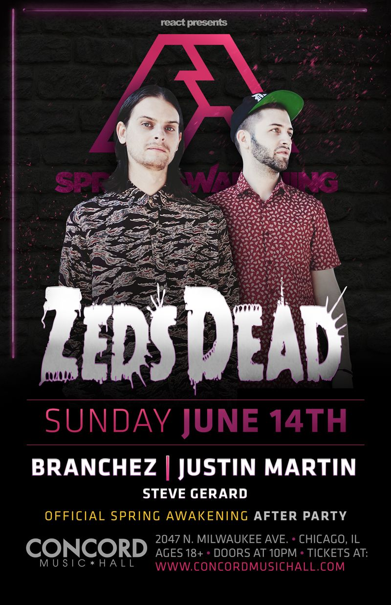 zeds dead sunday june 14 concord music hall