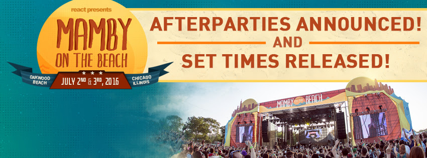 mamby after parties and set times
